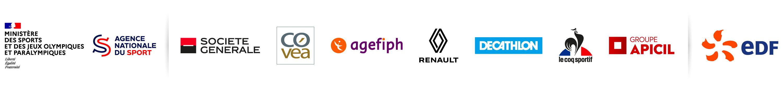 Ministère de la Ville, de la Jeunesse et des Sports / Malakoff Médéric, Société Générale, Groupe Renault / EDF. Cliquez sur l'image pour découvrir tous nos partenaires (nouvelle fenêtre).