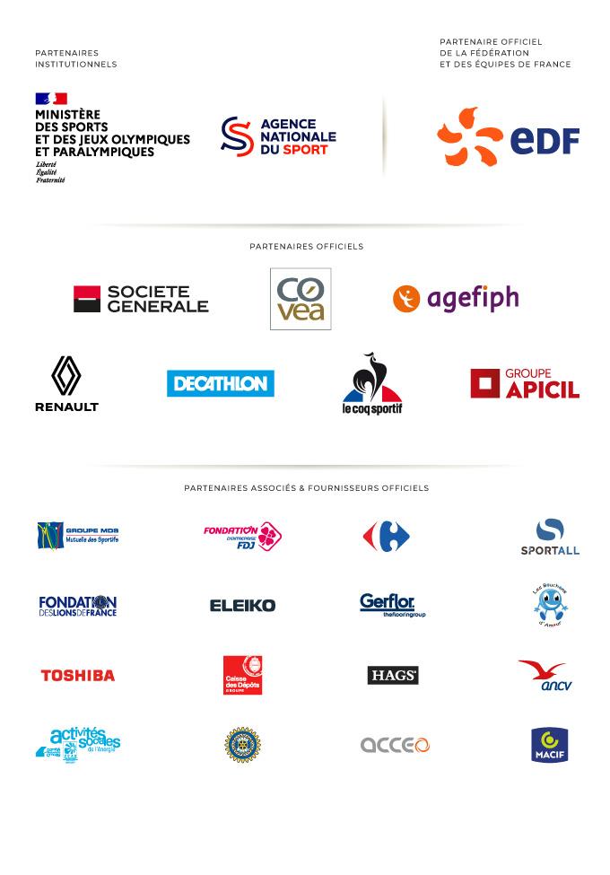 Les Partenaires de la Fédération Française Handisport