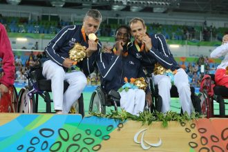 Médaille d'or par équipe à l'épée - Jeux paralympiques de Rio 2016