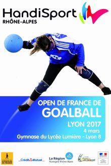 Affiche Goalball