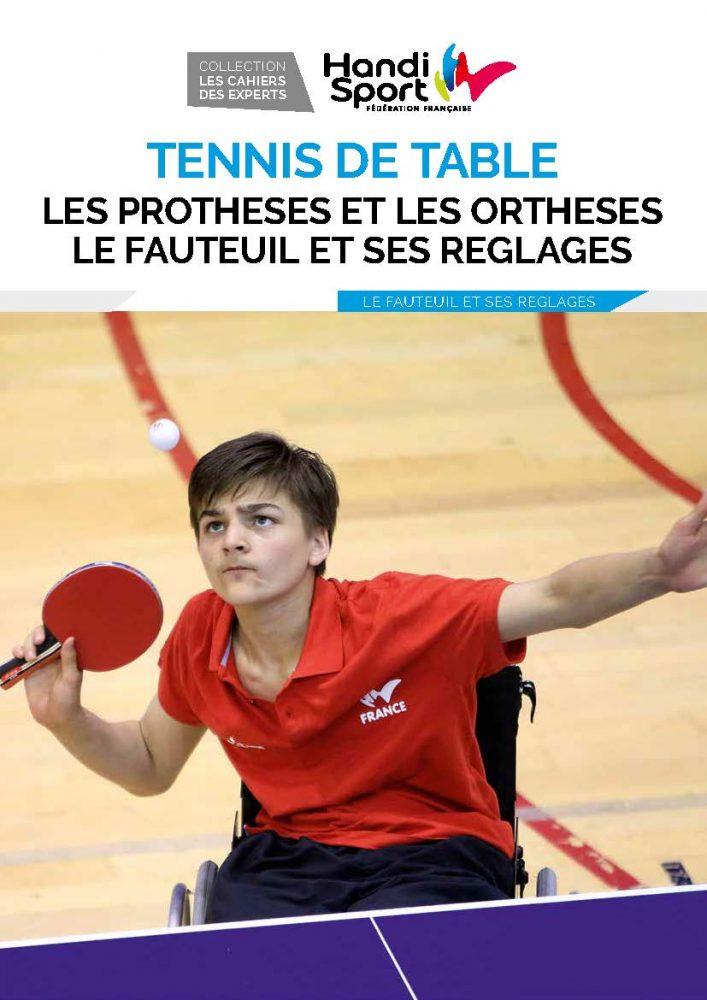 Tennis de table - le fauteuil, les prothèses et les orthèses