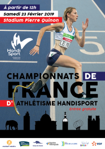 Athlétisme France Indoor Nantes 2019